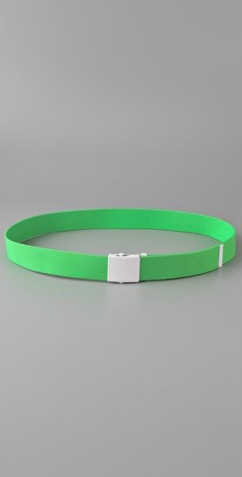 B-low The Belt Neon Web Belt