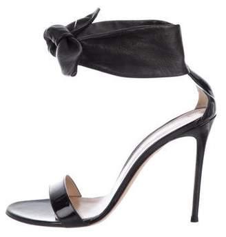 Gianvito Rossi Tie Ankle-Strap Sandals
