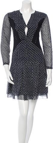 Burberry Burberry Prorsum Silk Floral Print Dress w/ Tags