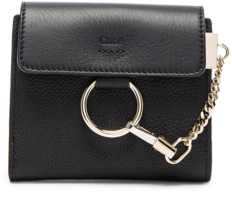 Chloé  Chloe Leather Faye Square Wallet