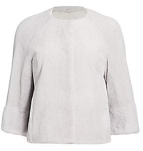 Julia & Stella Women's Mink Bolero Jacket