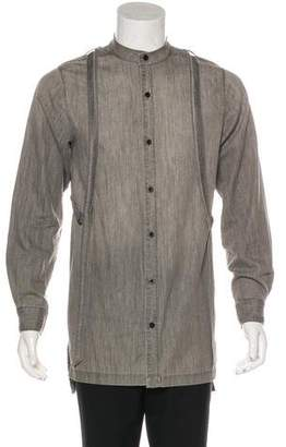Skingraft Woven Button-Up Shirt