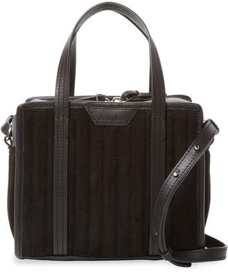 Steven Alan Simone Ribbed Leather Satchel