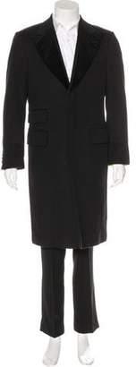 Dolce & Gabbana Wool Peak-Lapel Coat