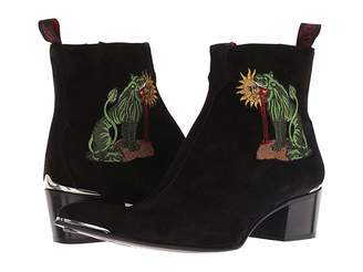 Jeffery West Sylvian Chimera Embroidered Zip Boot