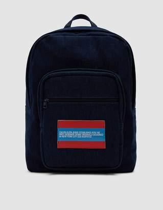 Calvin Klein Jeans Est. 1978 Indigo Denim Backpack