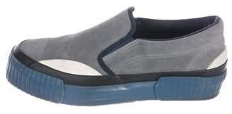 Julien David Canvas Platform Low-Top Sneakers