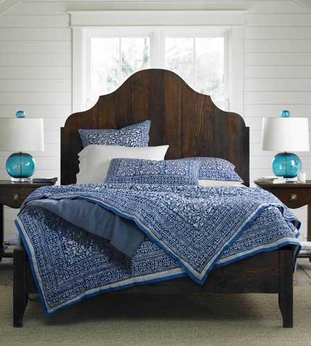 Gustavian Bed - Dark