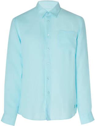 Vilebrequin Solid Linen Button-Up Shirt