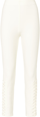 Derek Lam 10 Crosby Lace-Up Skinny Pants $355 thestylecure.com