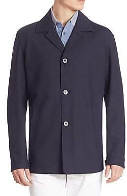 Ermenegildo Zegna Men's Wool Blend Stretch Jacket