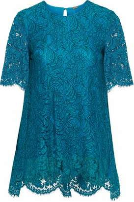 ADAM by Adam Lippes Cotton-Blend Corded Lace Top