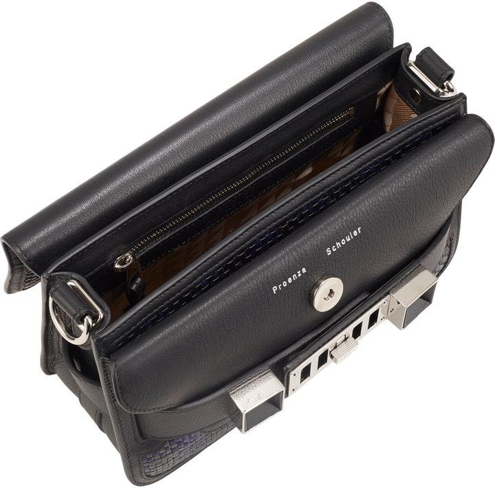 Proenza Schouler Woven PS11 Mini Classic