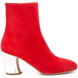 Proenza Schouler Chunky Metallic Heel Ankle Boot