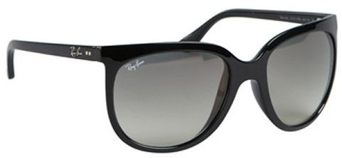 Ray-Ban black plastic 'Cats 1000' sunglasses