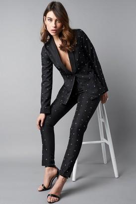 Na Kd Party Embellished Suit Pants Black