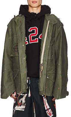 "424xALPHAxSLAMJAM 424XALPHAXSLAMJAM MEN'S M-65 DEFENDER ""ANARCHY"" FIELD JACKET"