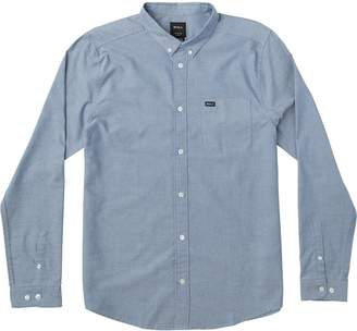 RVCA That'll Do Stretch Long-Sleeve Shirt - Men's