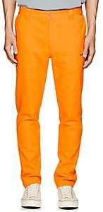 Dickies CONSTRUCT Men's Logo Cotton Slim Trousers - Orange