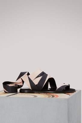 Pierre Hardy Zig Zag sandals