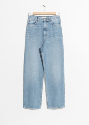 And other stories Wide Leg Denim Jeans