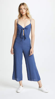 Blue Life Tied Up Jumpsuit
