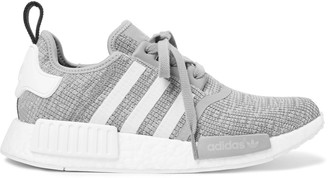 adidas Originals NMD R1 Rubber-Trimmed Mesh Sneakers $130 thestylecure.com
