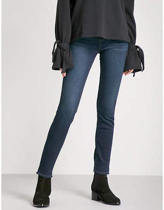 Paige Verdugo slim-fit skinny mid-rise jeans