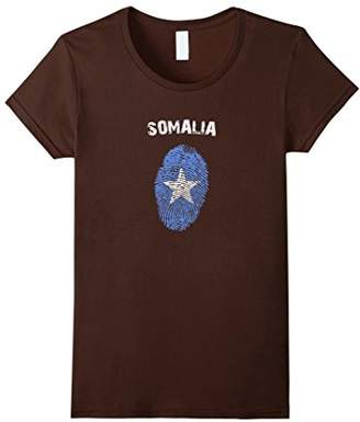 Somalia Fingerprint Flag Country Pride Heritage Shirt