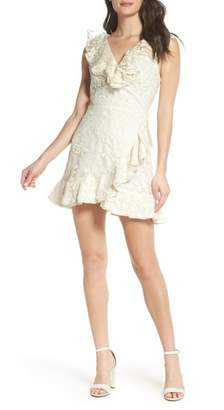 BB Dakota Harlow Ruffle Minidress