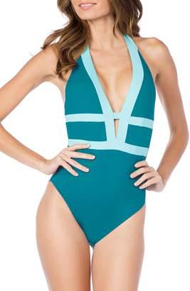 LaBlanca La Blanca Muse Plunging One-Piece Swimsuit