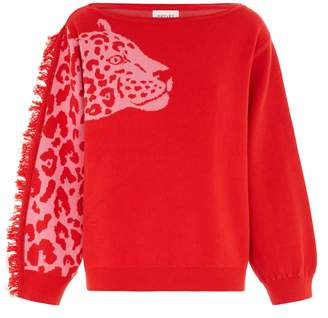 Hayley Menzies Panthera Jumper - Red Pink