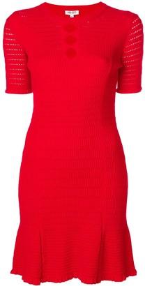 Kenzo cut-detail shift dress