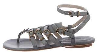 Balenciaga Gladiator Leather Sandals