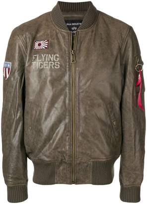 Alpha Industries Flying Tiger bomber jacket