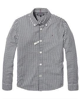 Tommy Hilfiger Boys Gingham Shirt L/S (Boys 8-14 Years)
