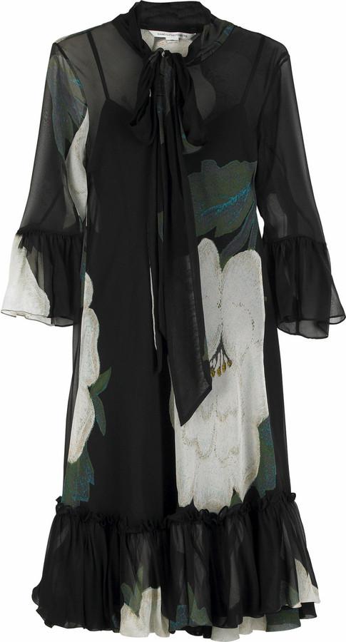 Diane von Furstenberg Riego chiffon dress