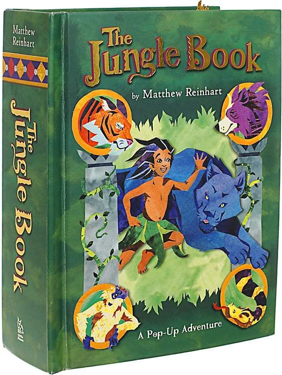 Simon & Schuster The Jungle Book: A Pop-Up Adventure