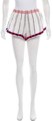 Townsen Embroidered Mini Shorts