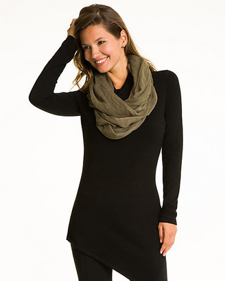 Le Château Woven Lightweight Infinity Scarf