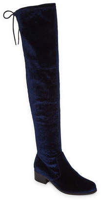 STYLE CHARLES Style Charles Groove Womens Over the Knee Boots