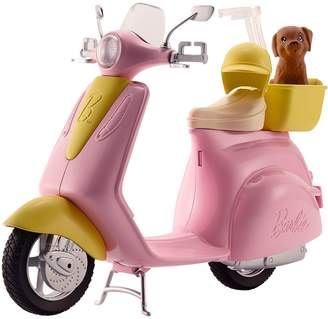 Barbie Scooter And Puppy