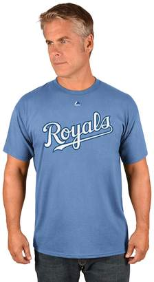 Majestic Men's Kansas City Royals Official Wordmark Tee