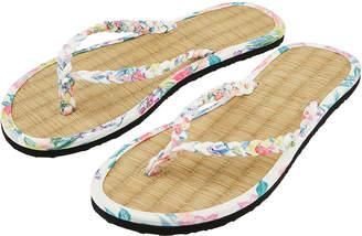 e24e8c828a2de6 Accessorize Amalfi Print Seagrass Flip Flops