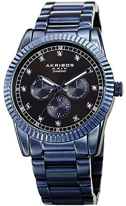 Akribos XXIV Men's Quartz Stainless Steel Casual Watch