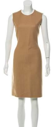 Calvin Klein Collection Sleeveless Camel Dress Tan Sleeveless Camel Dress