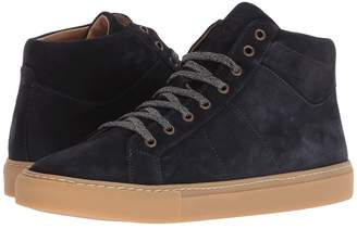 Eleventy High Top Suede Sneaker Men's Shoes