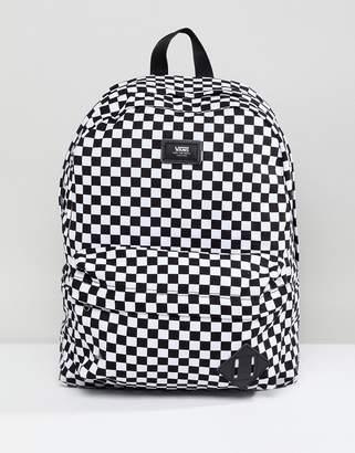 Vans Old Skool Ii Backpack In Checkerboard