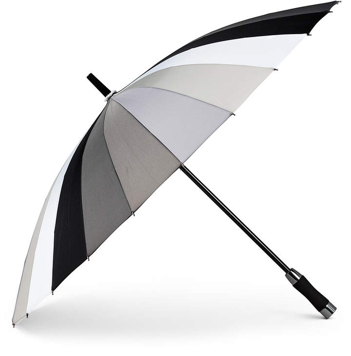 Gray Slat Umbrella