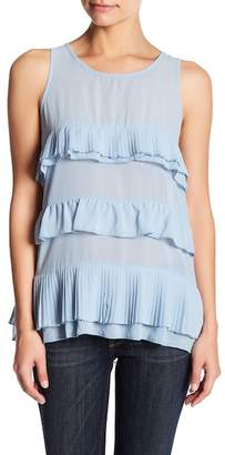 Romeo & Juliet Couture Tiered Keyhole Tank
